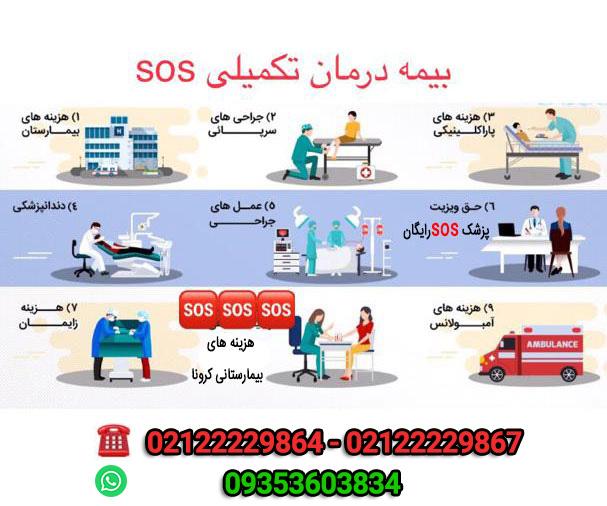 بیمه تکمیلی درمان sos